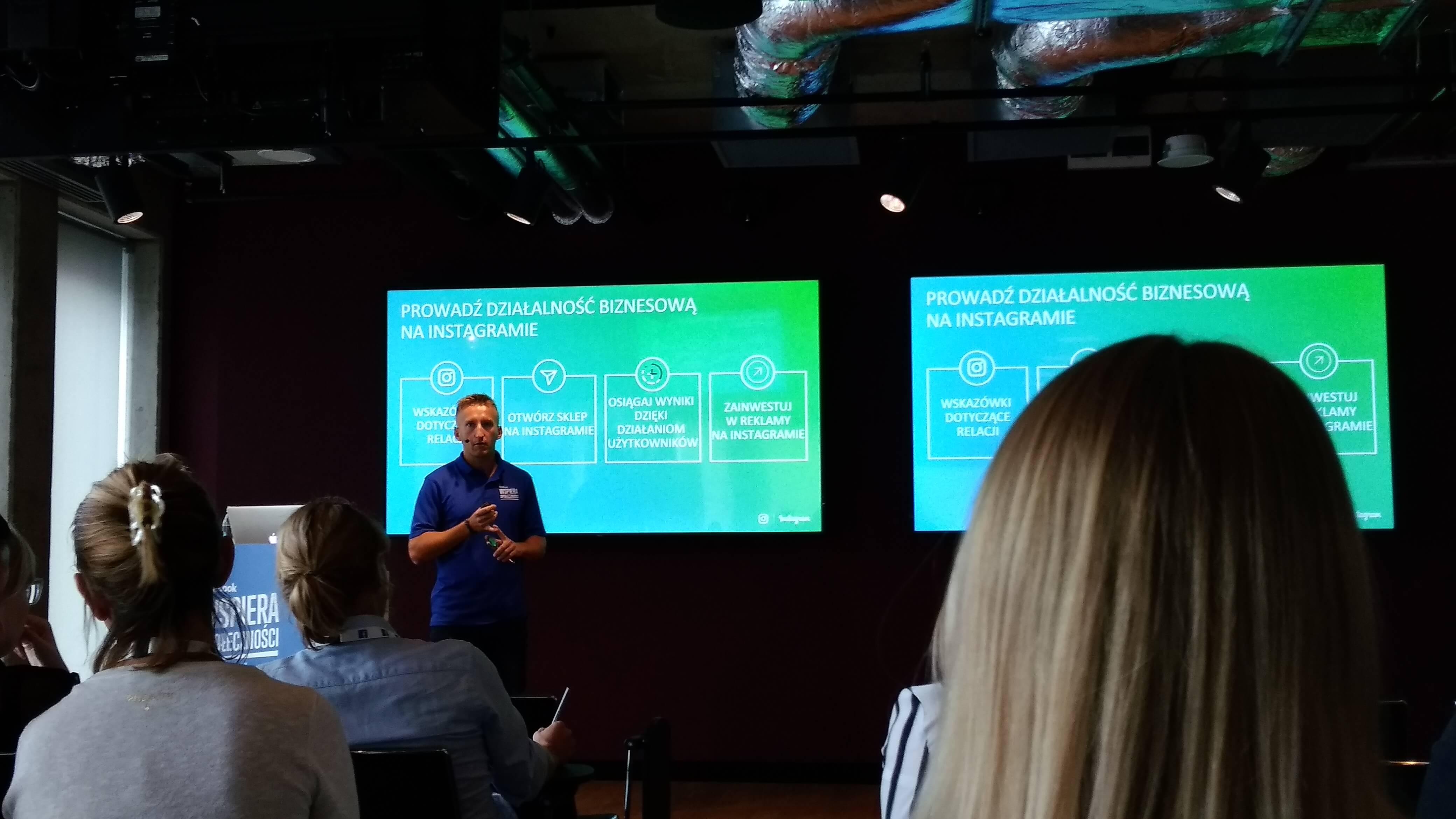 Slajd z prezentacji: Jak prowadzić działalność biznesową na Instagramie