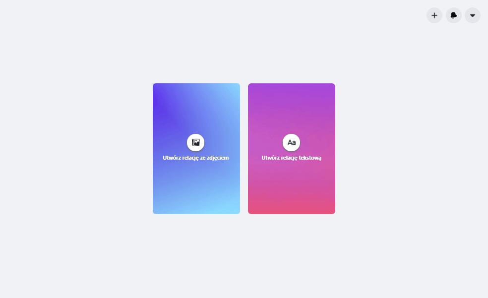 relacje naekranie desktop